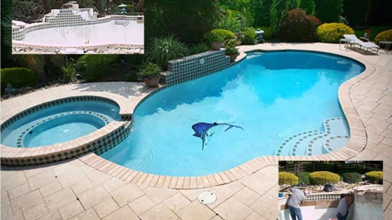 Repair and Clean the Swimming Pool with Professional Cherry Pool Service