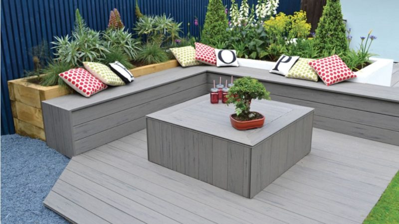 Which are the prominent benefits of using composite decking?