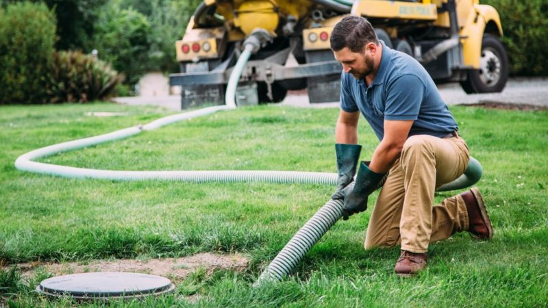 Get the high-quality septic tank pumping service you need