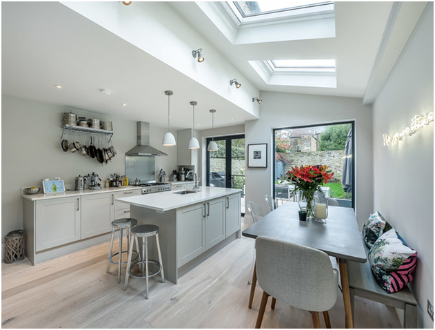 Kitchen designs to maximize natural light.